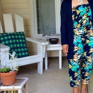 Mudd floral jumpsuit